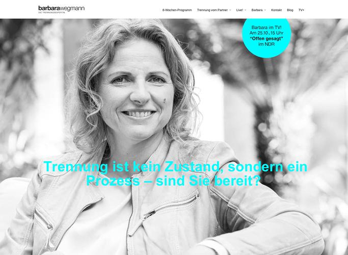 Die Trennungsexpertin Barbara Wegmann im Portrait