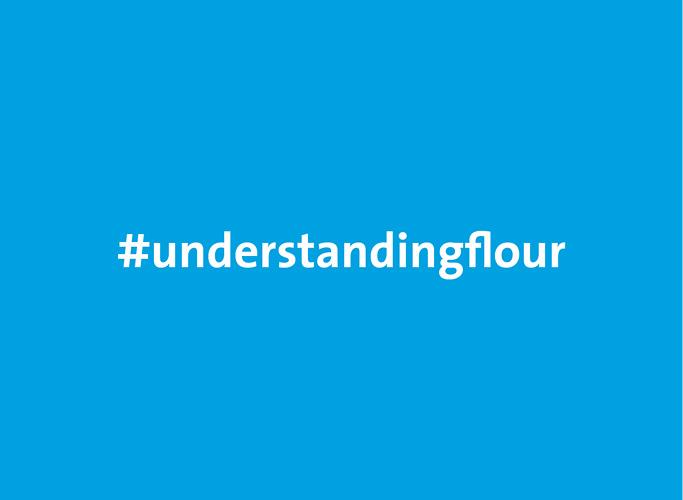 Visual für die Hashtag-Kampagne #understandingflour