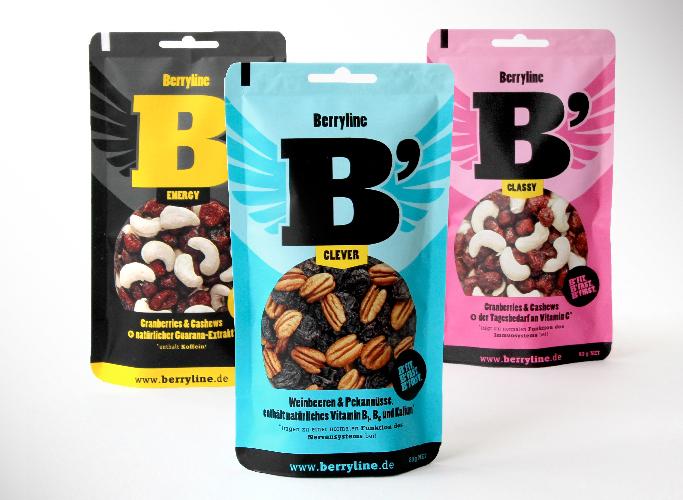 ondesign entwirft das Produktdesign aller Berryline Sorten