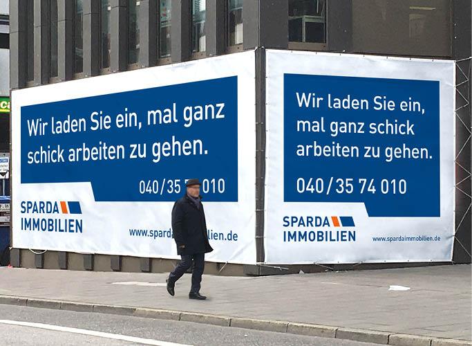 ondesign entwickelt Werbeformate für Sparda Immobilien
