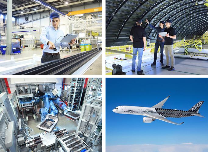 ondesign realisiert für das AIRBUS-Tochterunternehmen CTC eine neue Corporate Identity - Bildwelt