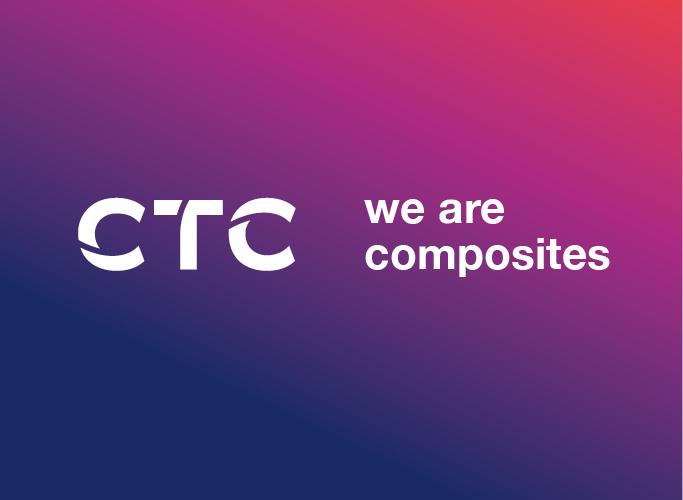 ondesign realisiert für das AIRBUS-Tochterunternehmen CTC eine neue Corporate Identity - Logo in Weiß auf Verlauf