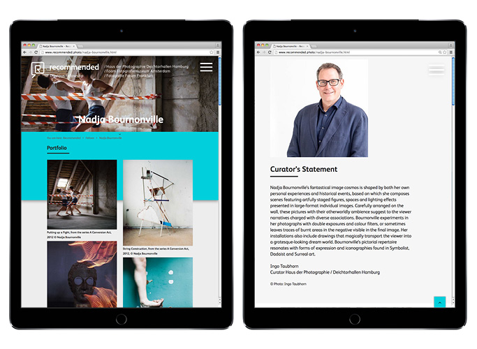 Die neue Olympus Website im mobilen Browser-View