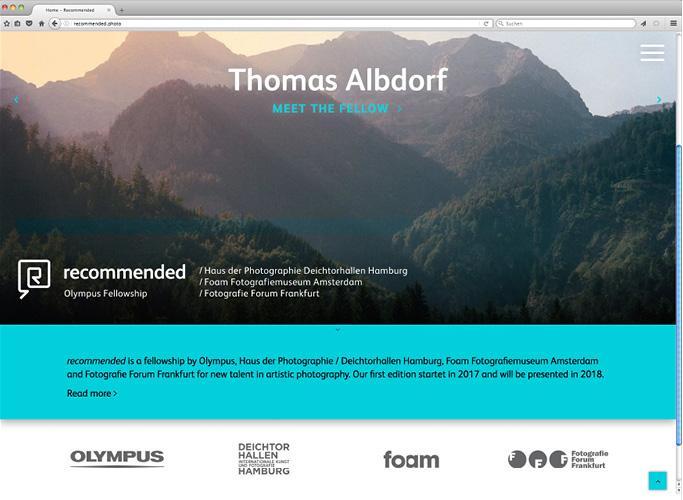 ondesign entwickelt den neuen Webauftritt von Olympus Fellowship