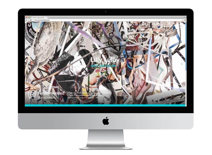 Fotografiehintergrund des neuen Olympus-Webdesigns