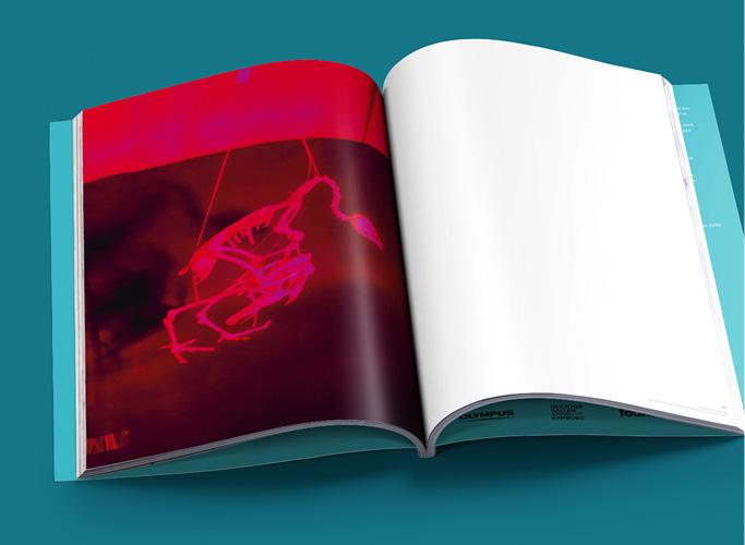 ondesign realisiert für recommended Fellowship Editorial Design des Ausstellungskatalogs - Innenseite mit ganzseitigem Foto