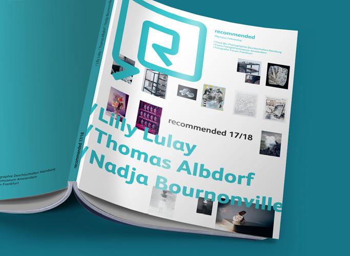 ondesign realisiert für recommended Fellowship Editorial Design des Ausstellungskatalogs - Titel