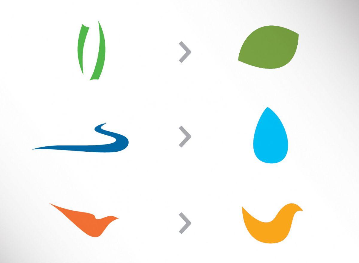 Die Marken-Kernlelemente der Heinz Sielmann Stiftung wurden in eine moderne Formsprache übersetzt