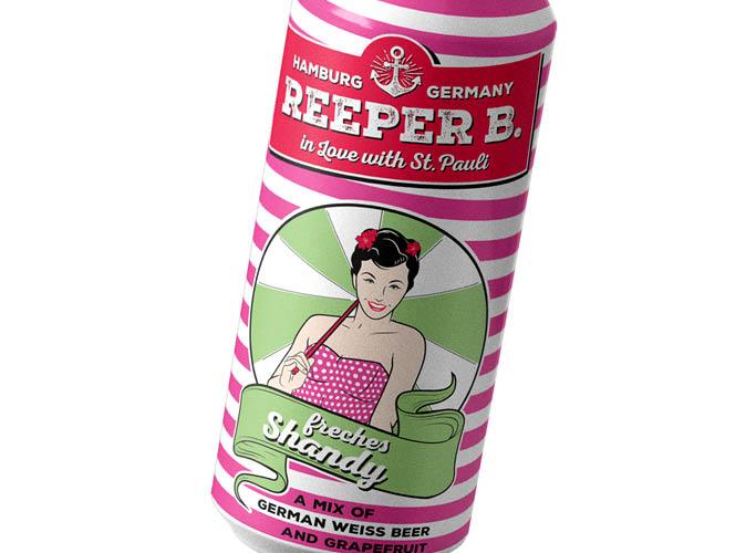 ondesign erstellt Packaging für Biermarke Reeper B. - Sorte freches Shandy