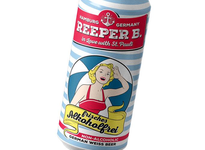 ondesign erstellt Packaging für Biermarke Reeper B. - Sorte frisches Alkoholfrei