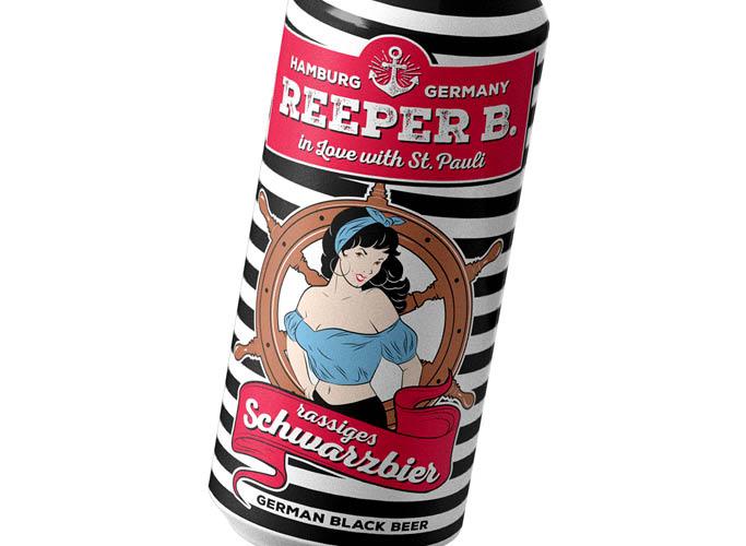 ondesign erstellt Packaging für Biermarke Reeper B. - Sorte rassiges Schwarzbier
