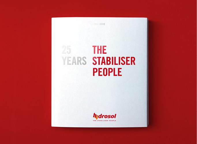 ondesign creates a commemorative publication for Hydrosol