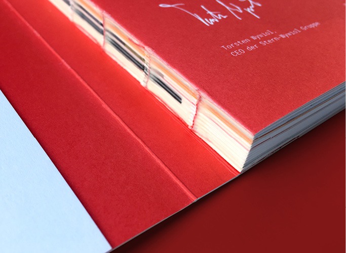 Die Verarbeitung der Festschrift im Detail