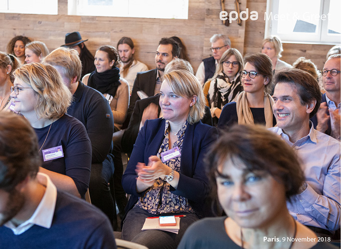 Gäste der epda Awards 2018 in Paris