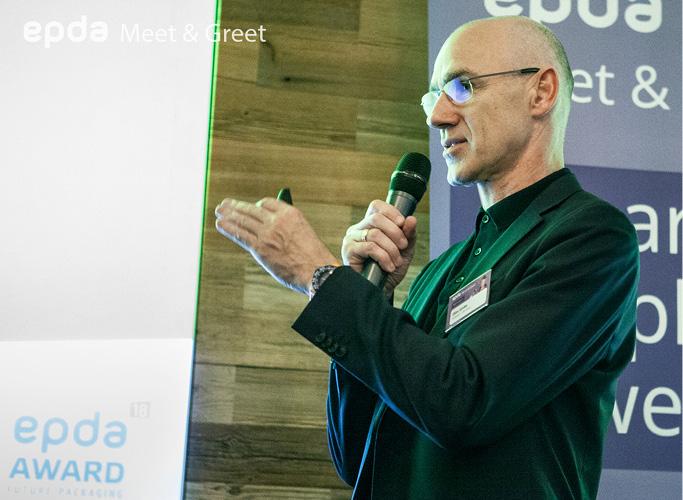 Olav Jünke bei den epda Design-Awards 2018 in Paris