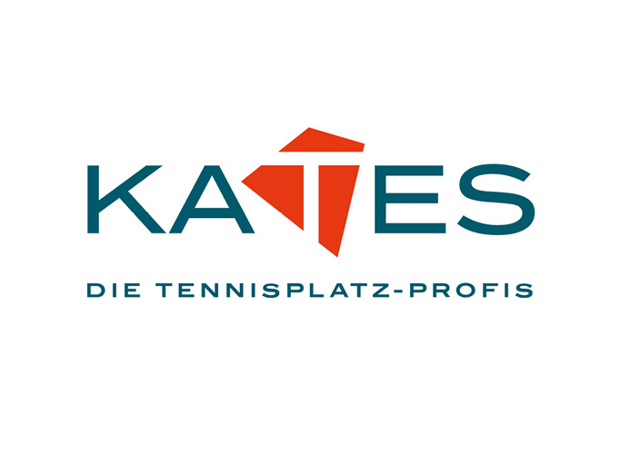 ondesign creates corporate design for the tennis court service Kates