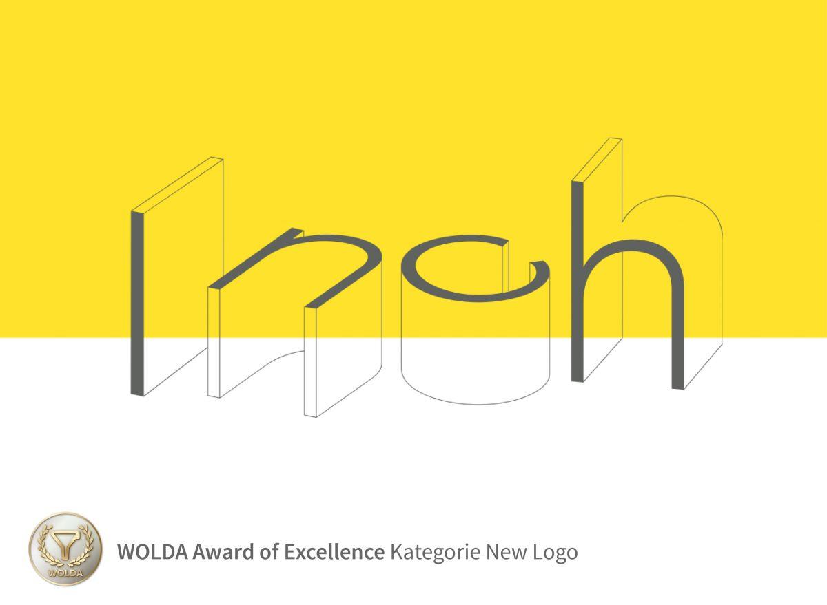 ondesign erhält WOLDA Award für das Inch Logodesign